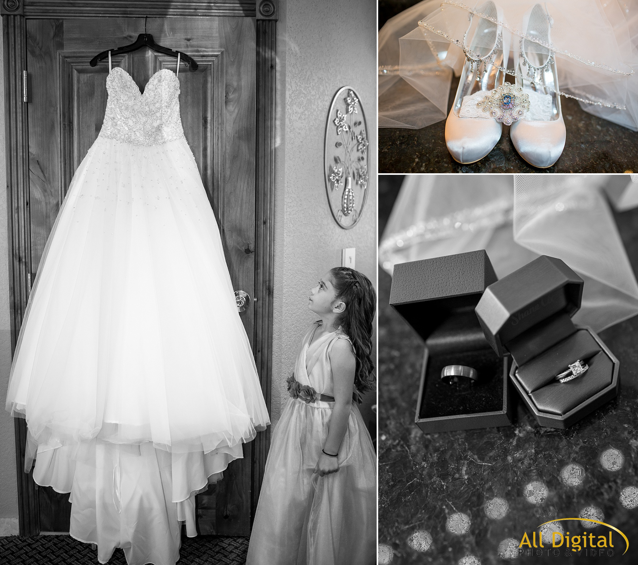 Wedding Dress and accessories at Stonebrook Manor