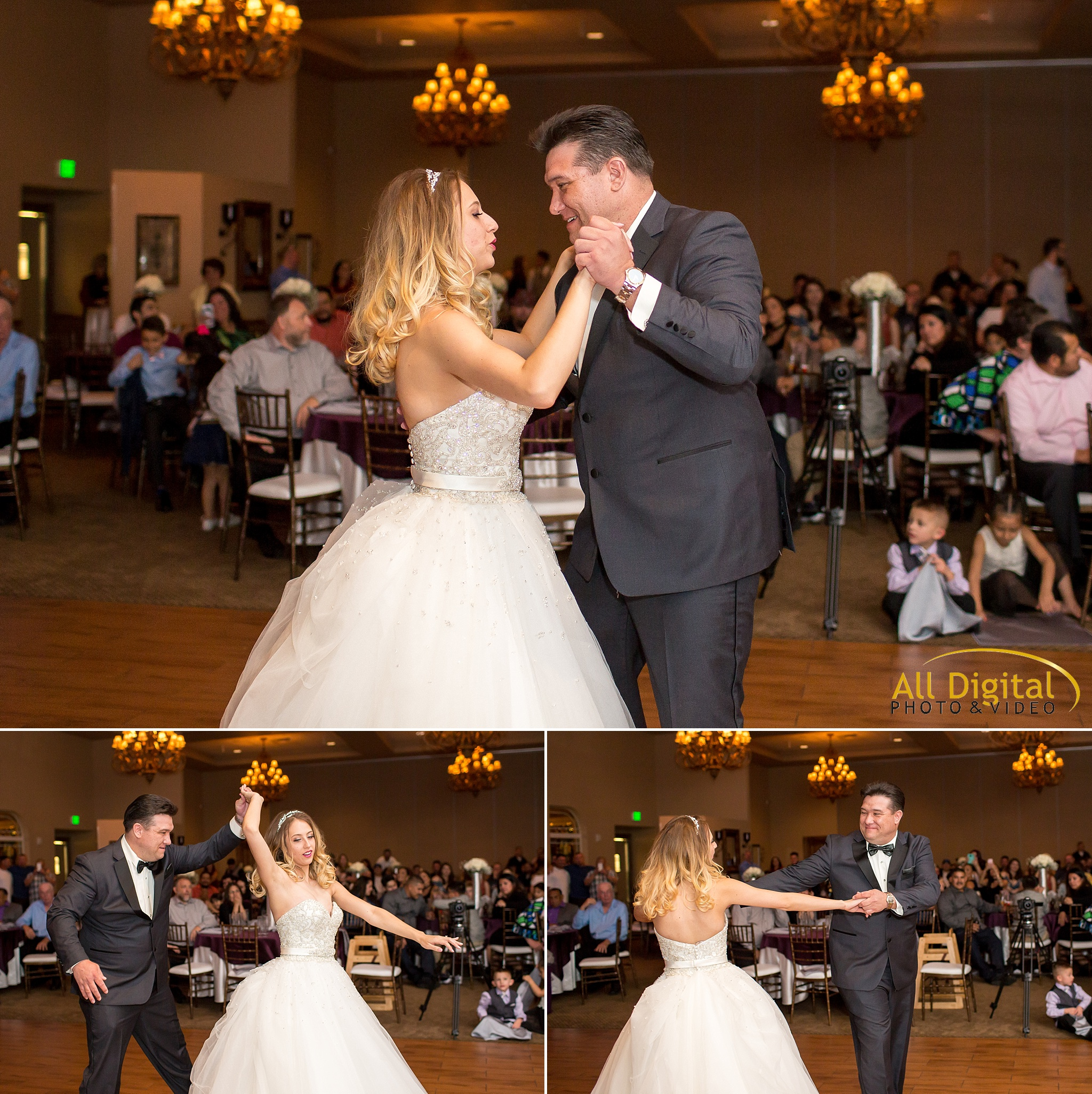 Bride & Father dance at Stonebrook Manor.