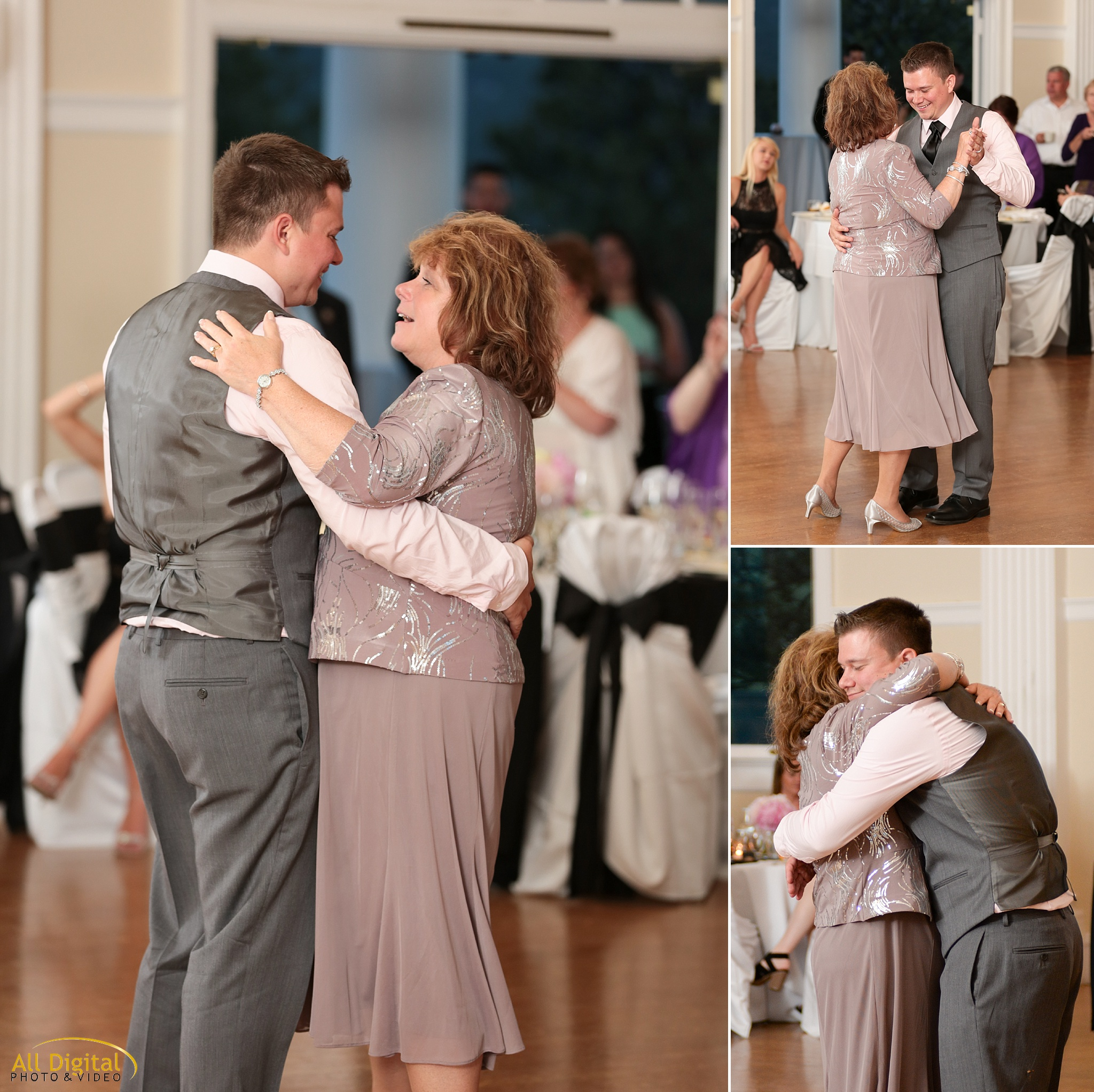 Mother & Son dance at the Stanley Hotel in Estes Park, Colorado.