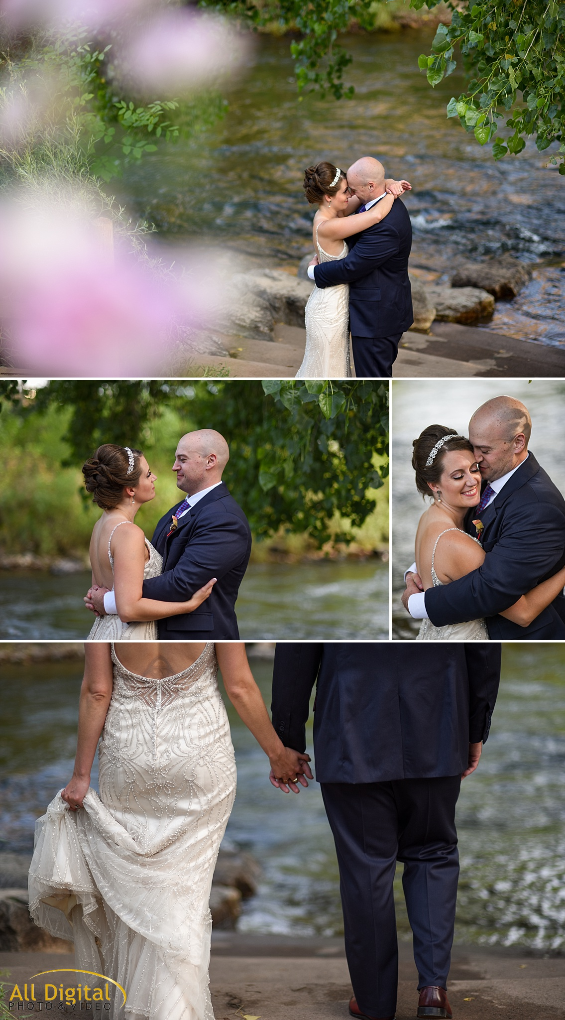 Mary & Jeremy's Romantic Portraits at the Golden Hotel photographed by All Digital Studios.