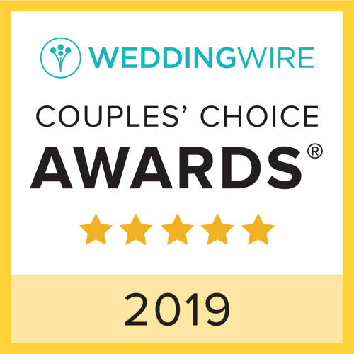 Wedding Wire Couple's Choice Award 2019