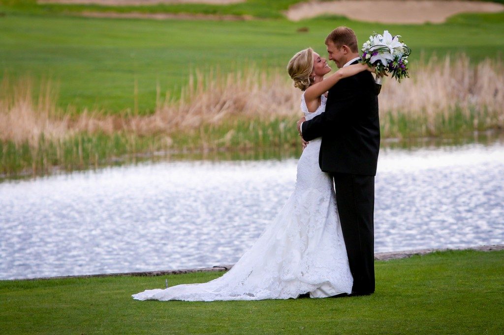 Kristina and Jason at Arrowhead Golf Course