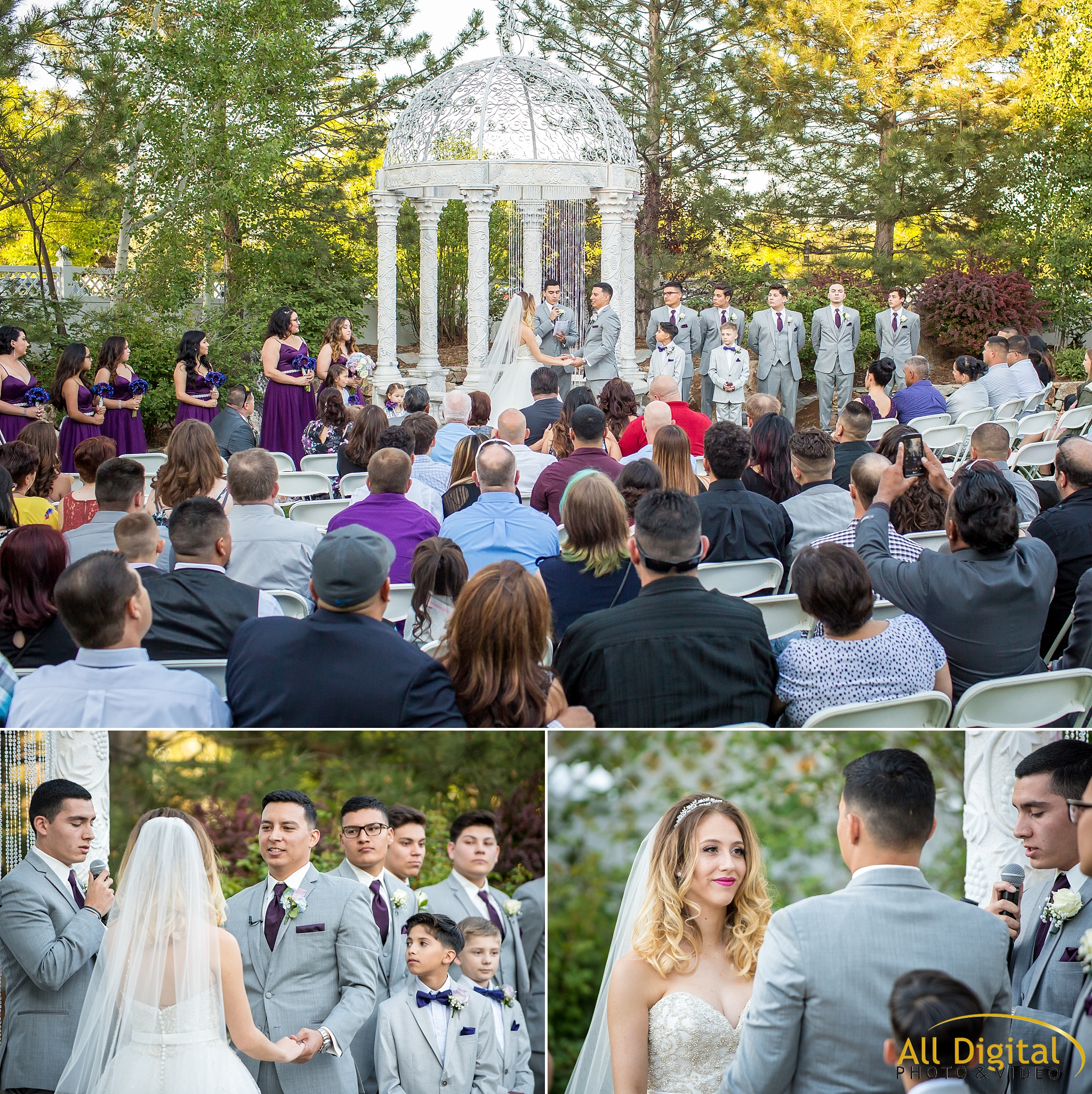 Wedding Ceremony at Stonebrook Manor.