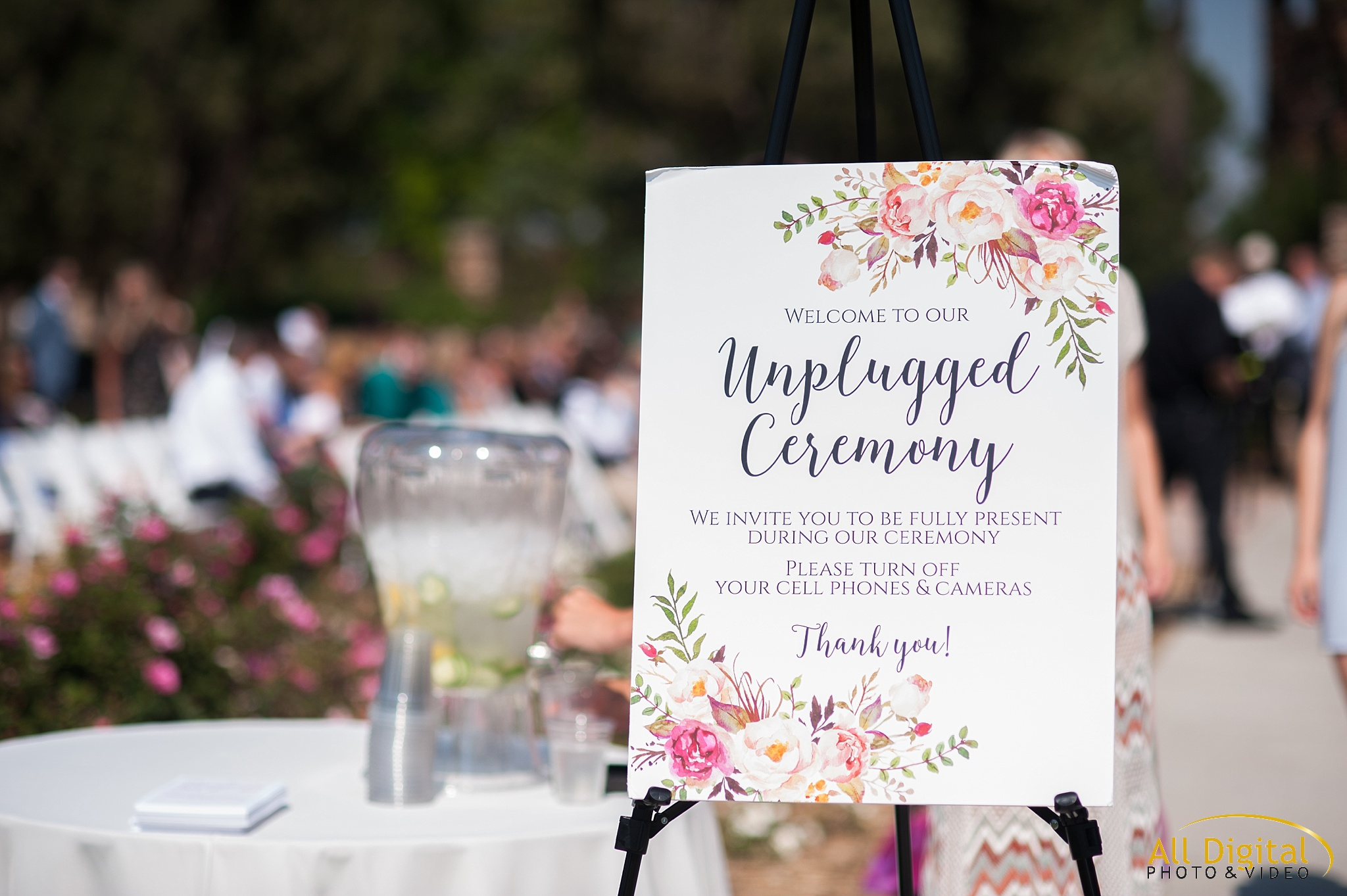 Ceremony Details at Highlands Ranch Mansion.