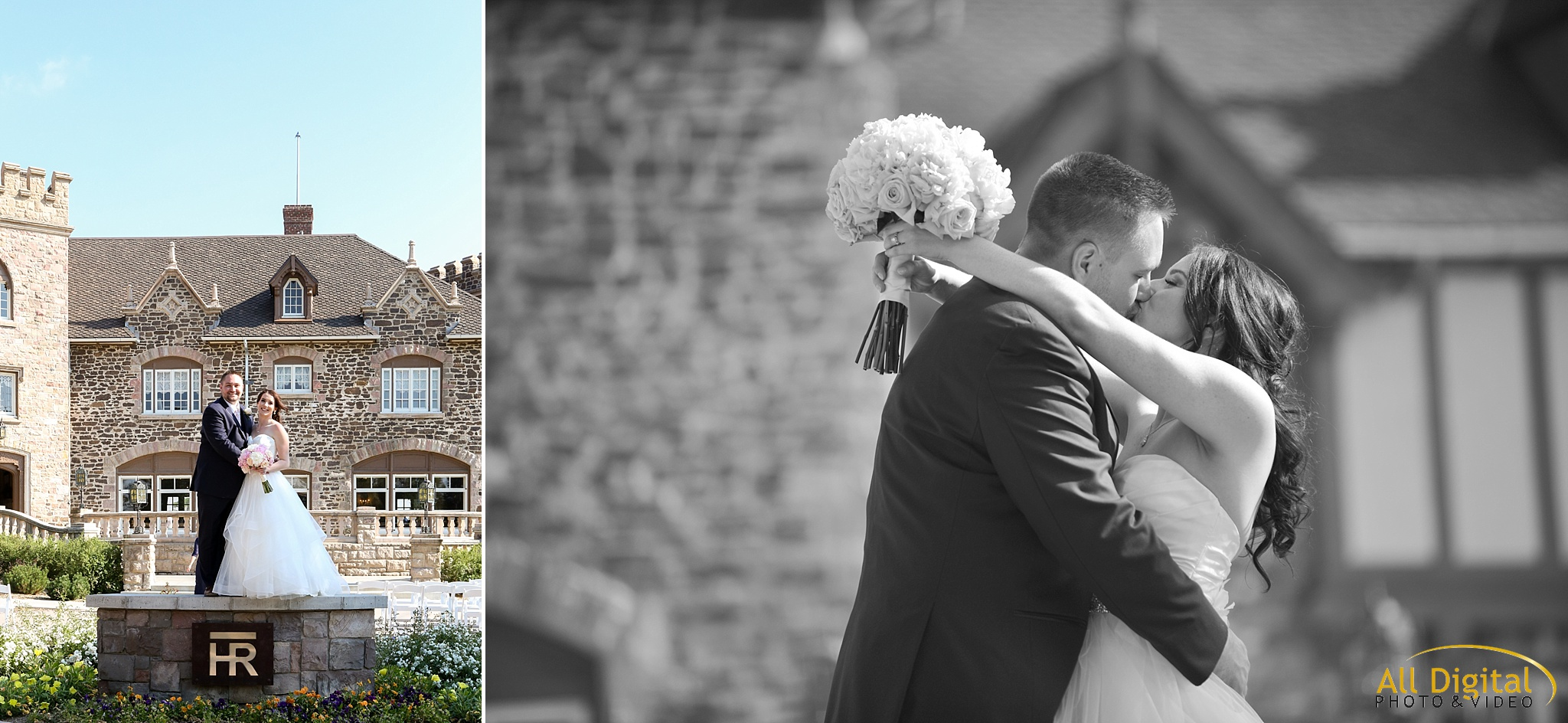 Bride & Groom Portraits at Highlands Ranch Mansion.