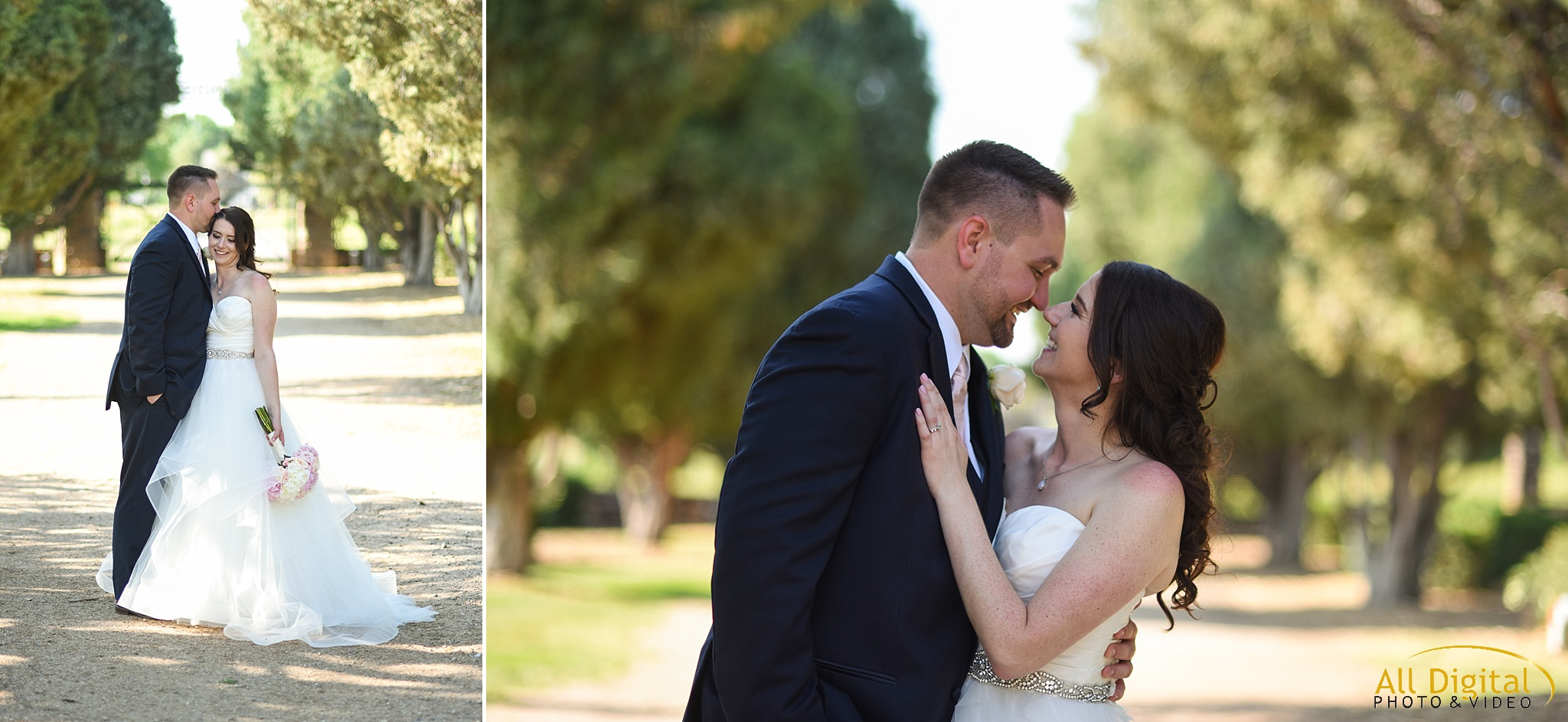 Bride & Groom Portraits at Highlands Ranch Mansion