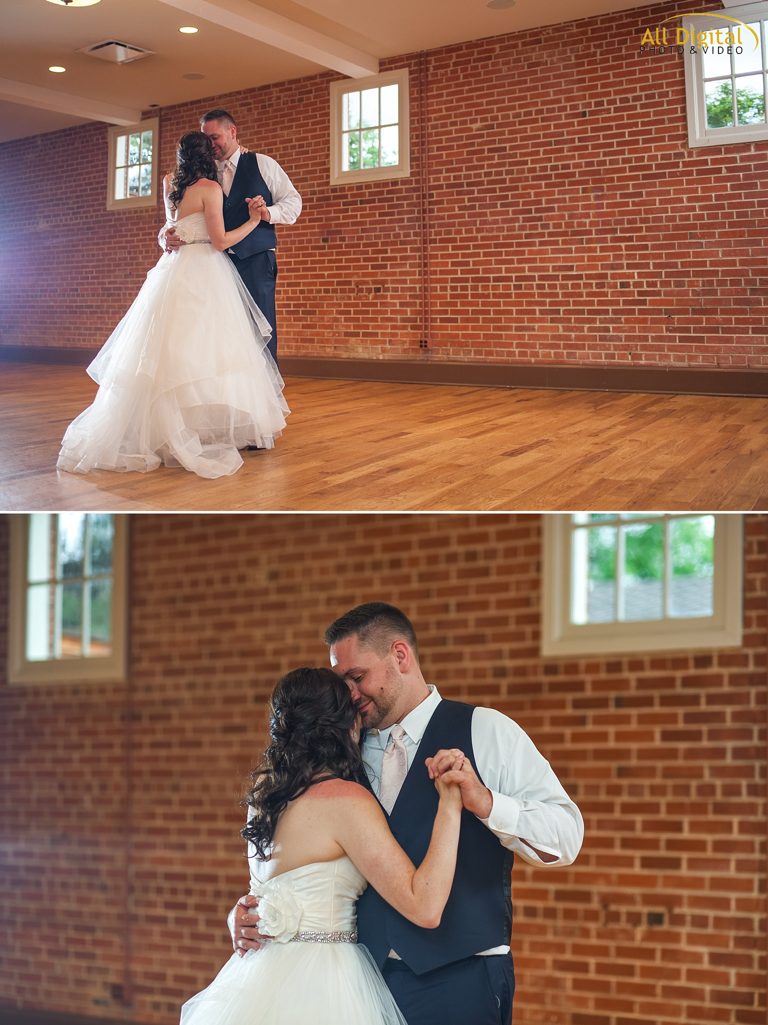 Bride & Groom's First Dance at Highlands Ranch Mansion