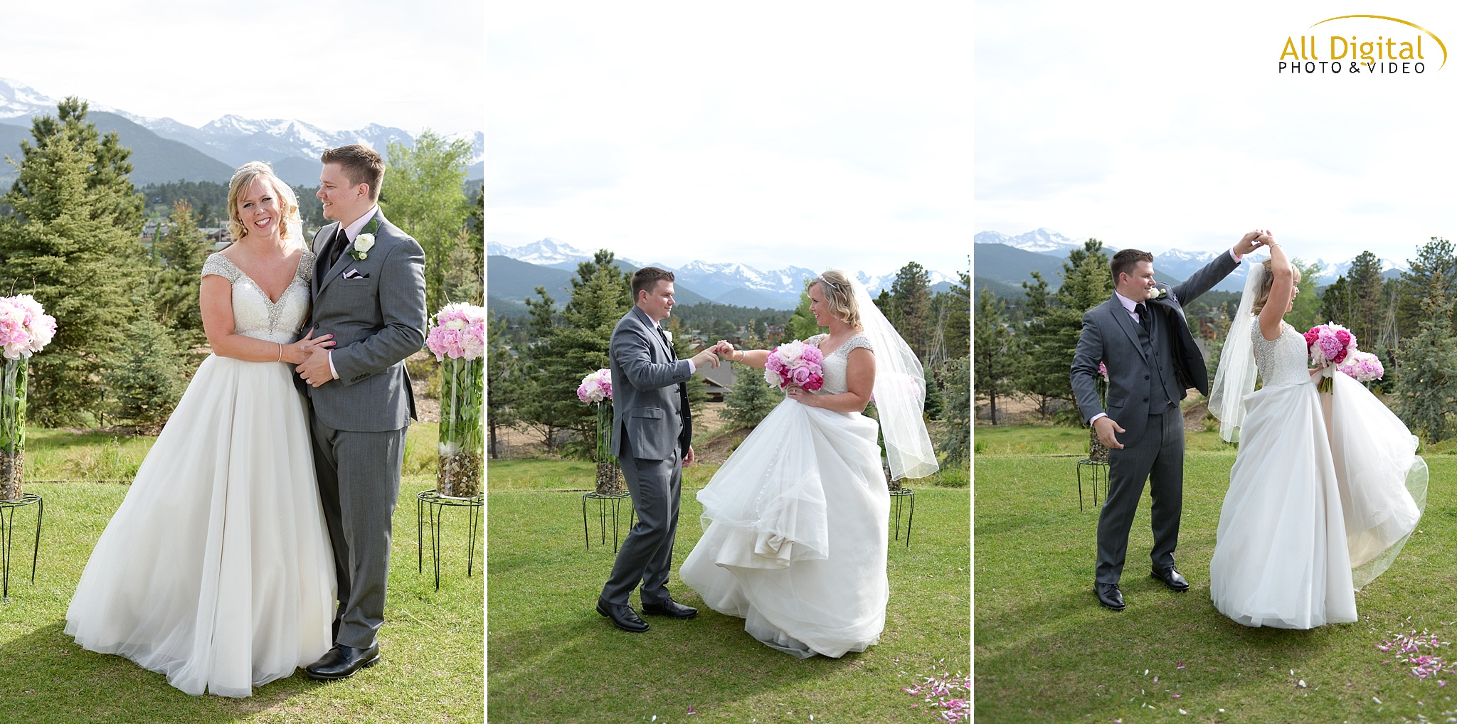 Alison & Brian - Romantic Portraits at the Stanley Hotel in Estes Park, Colorado.