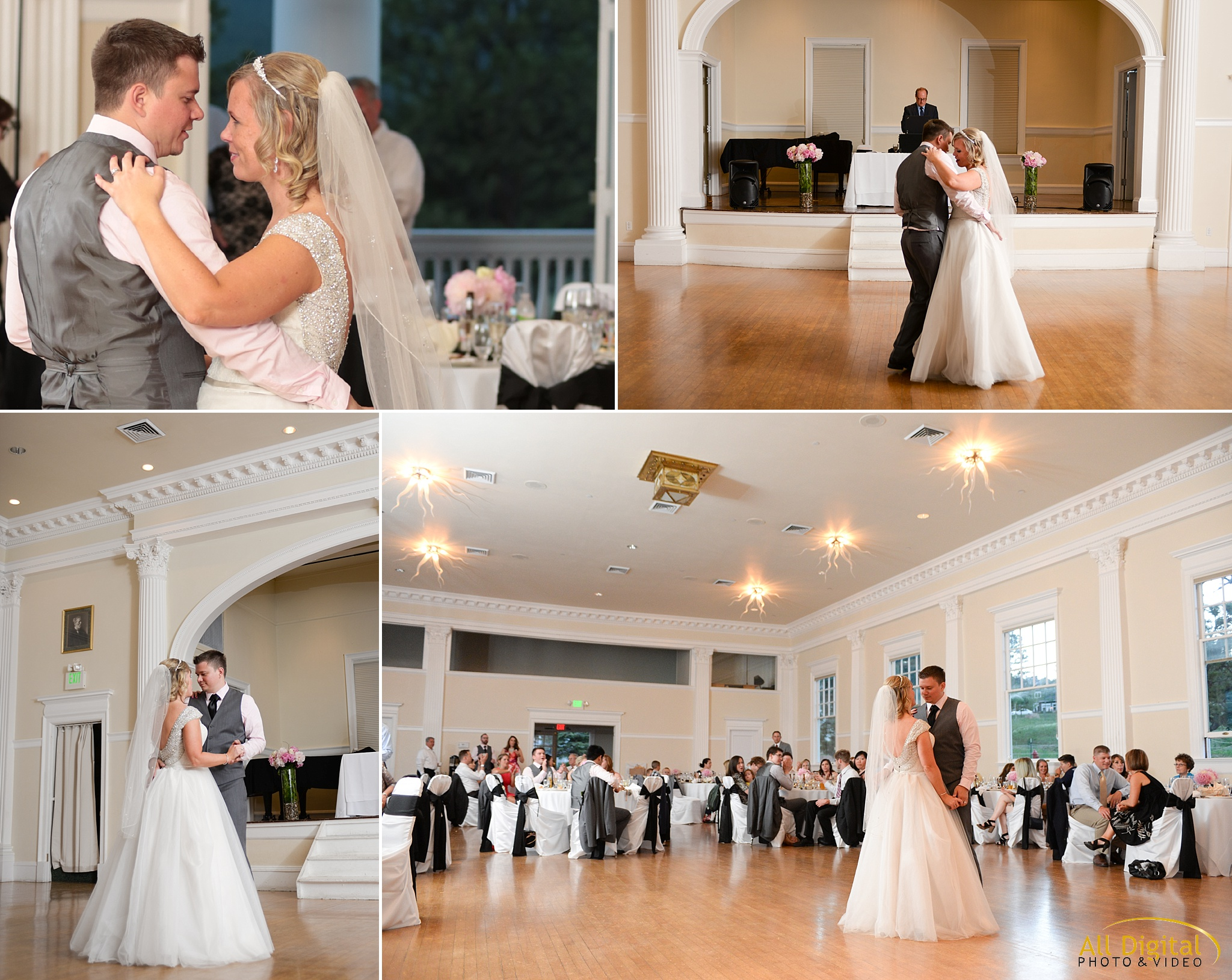 Alison & Brian's First Dance at the Stanley Hotel in Estes Park, Colorado.