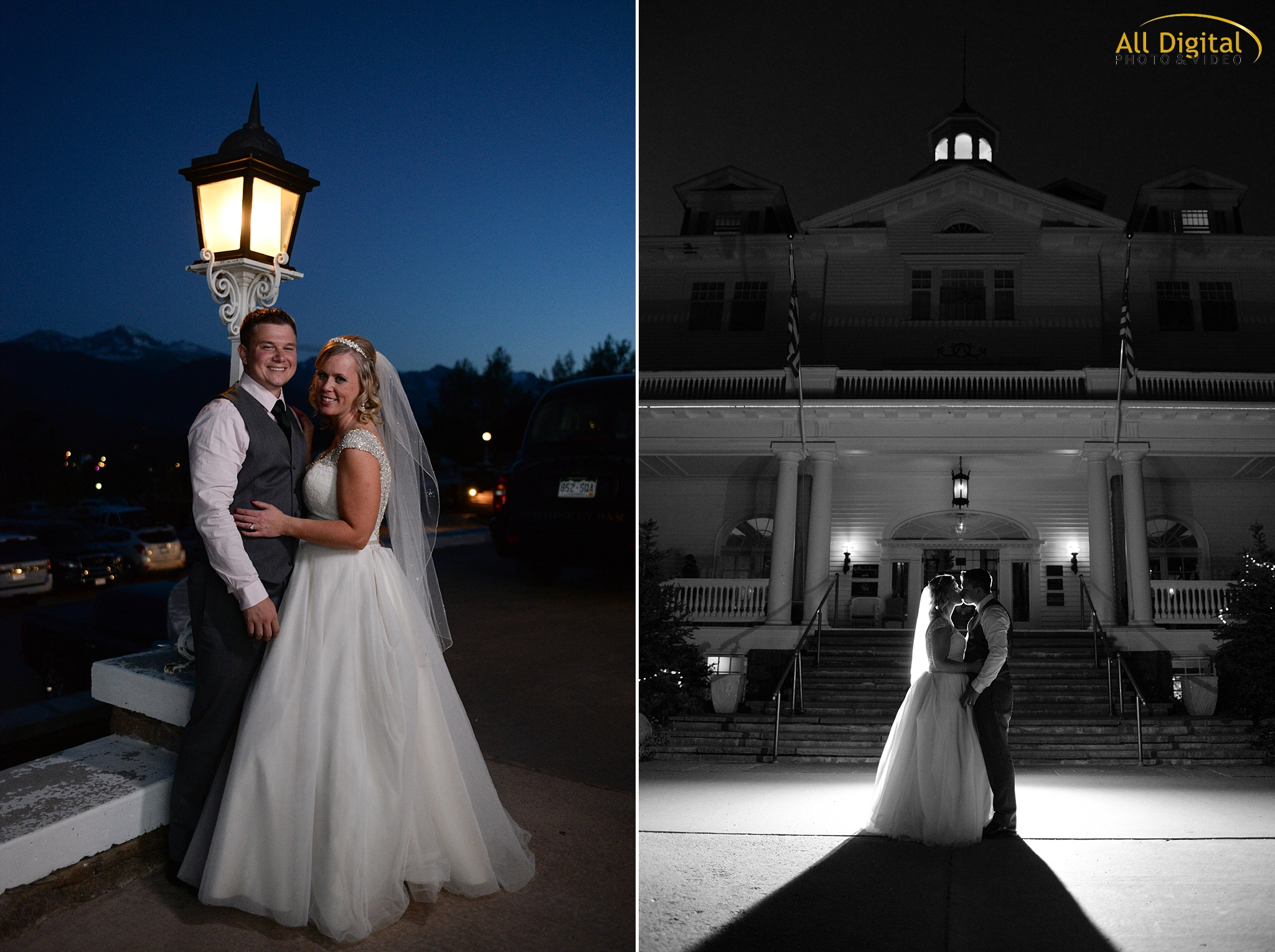 Alison & Brian's Portraits at the Stanley Hotel in Estes Park, Colorado.