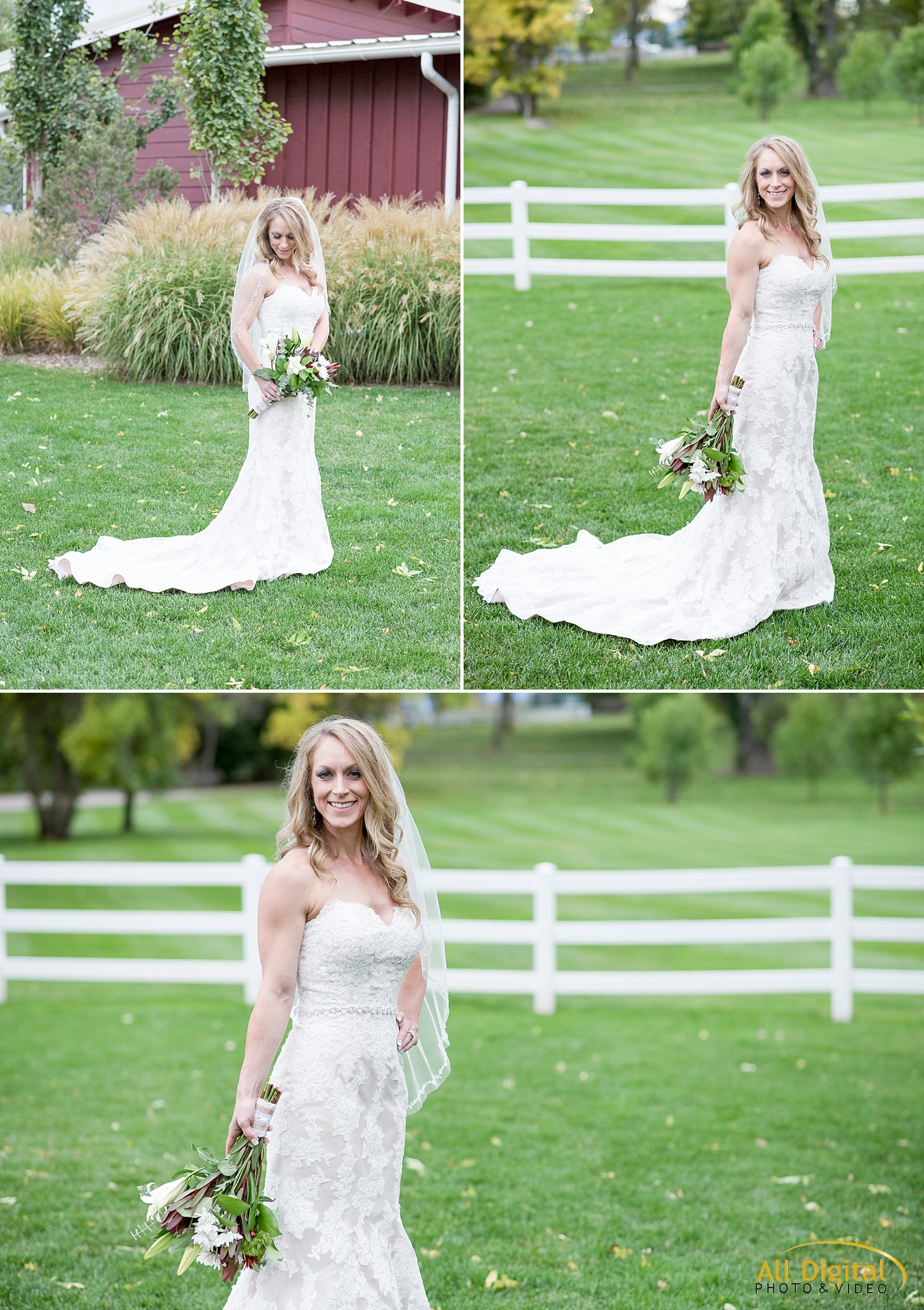 Tina's Bridal Portraits at Raccoon Creek