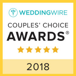 Wedding Wire Couple's Choice Award 2018