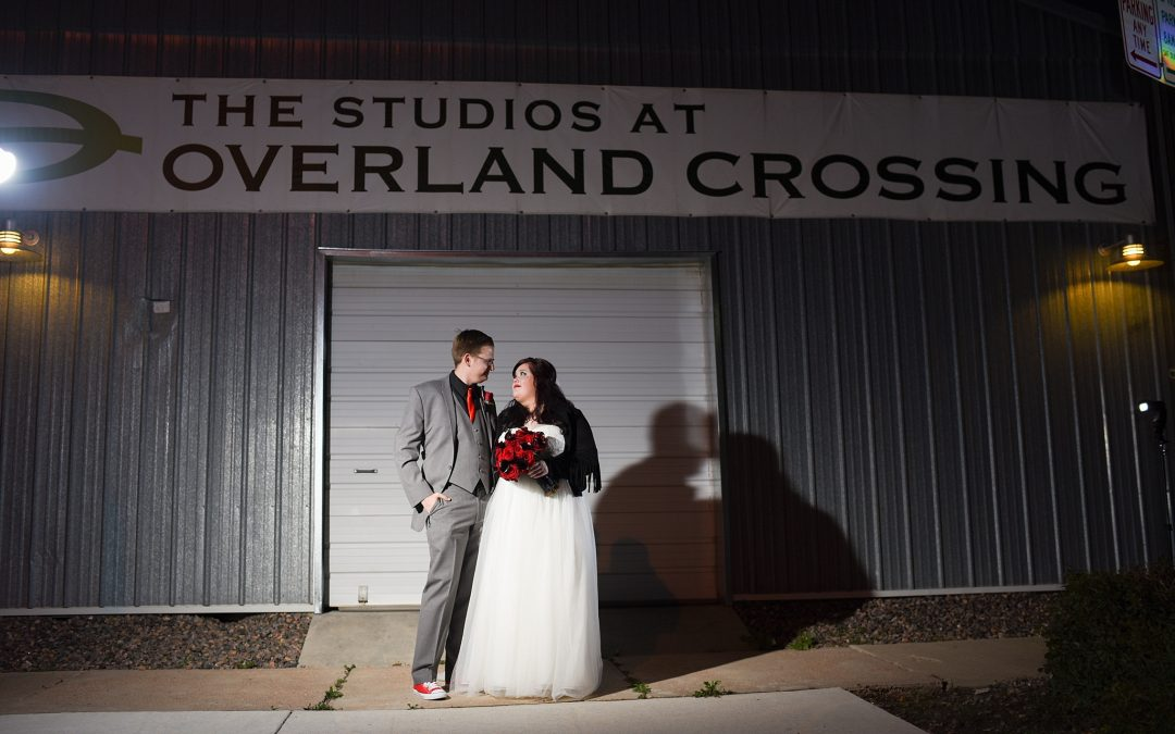Alecia & Nick | The Studios at Overland Crossing | Colorado Wedding Photography